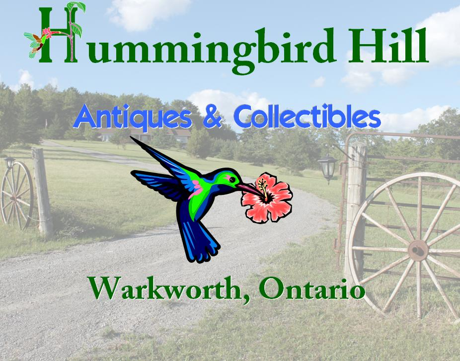 Hummingbird Hill Antiques and Collectibles at Twindmills Markets company logo