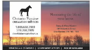 Ontario Equine Cremation Service & Clearblu Disposal