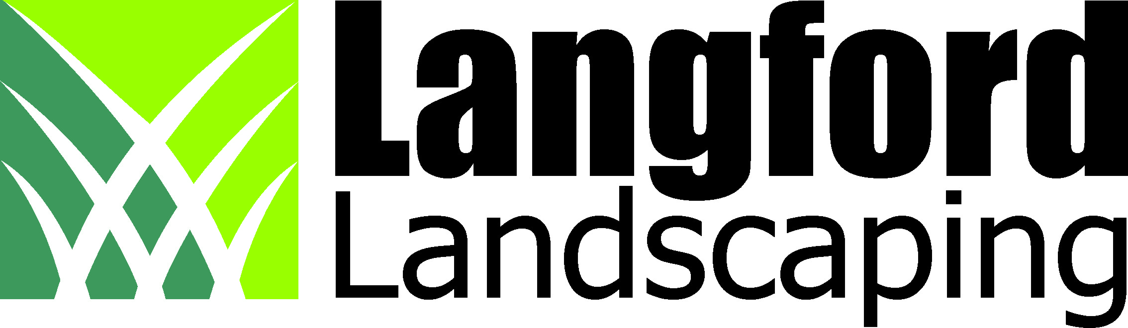 Langford Landscaping company logo