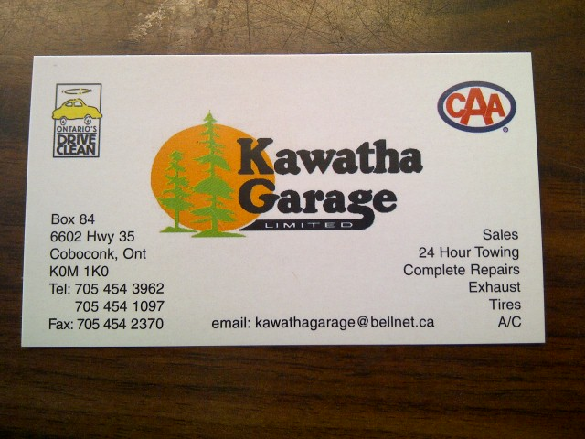 Kawatha Garage Limited