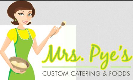 Mrs. Pye's Custom Catering and Fine Foods company logo