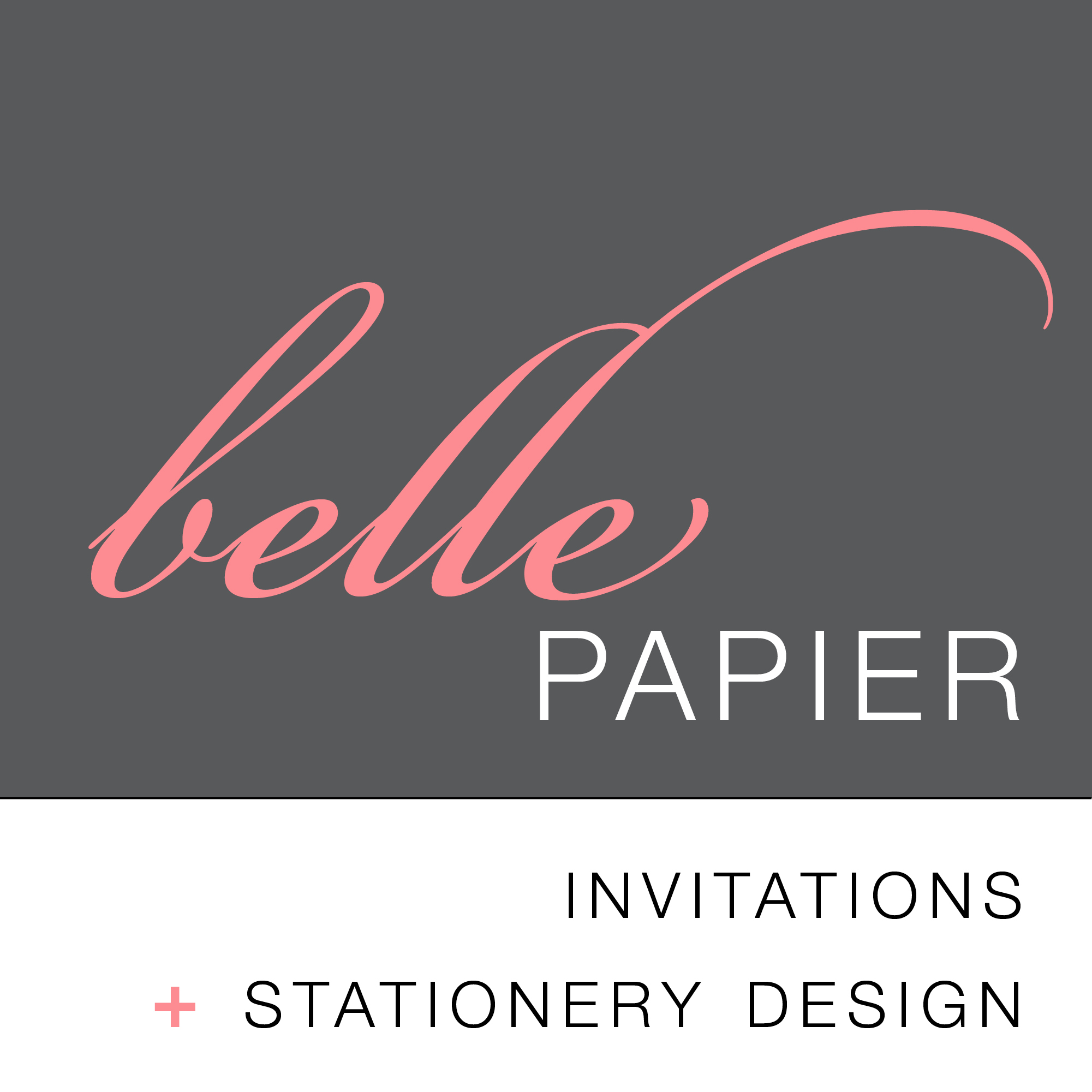 Belle Papier Invitations + Stationery Design