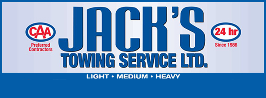 Jack's Towing Service company logo