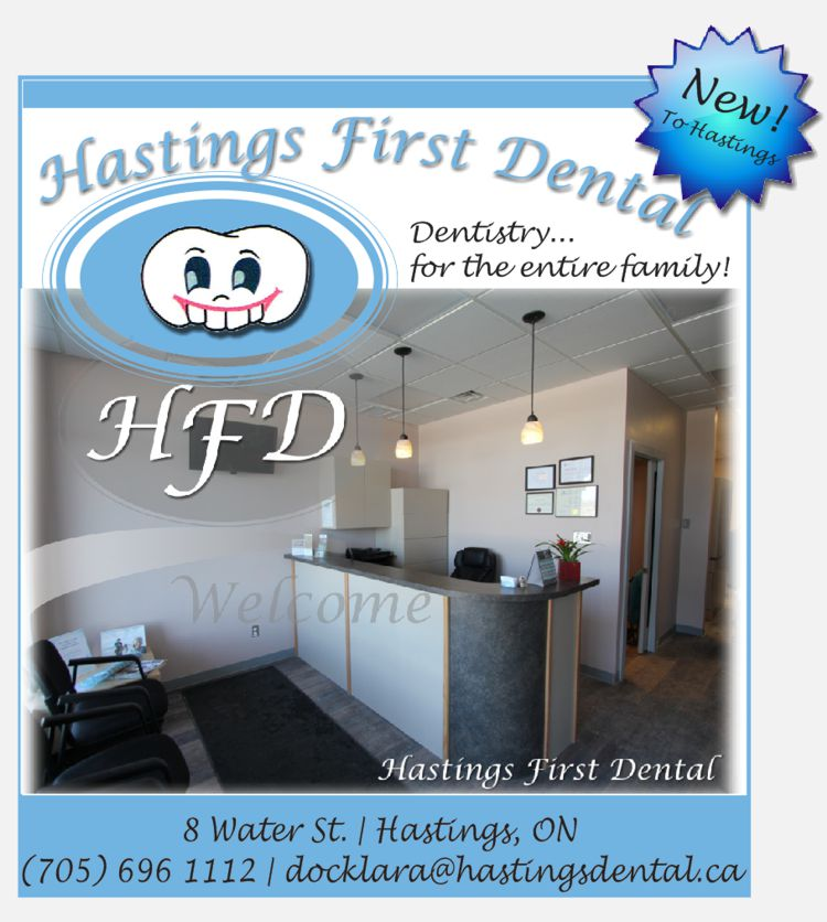 Hastings First Dental company logo