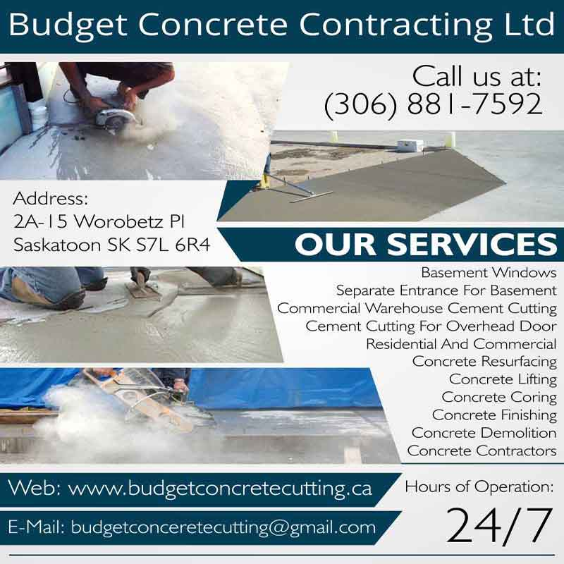 Budget Concrete Cutting Ltd.