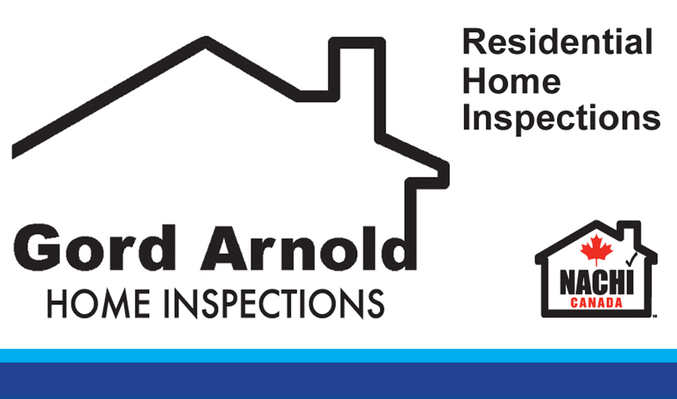 Gord Arnold Home Inspections company logo